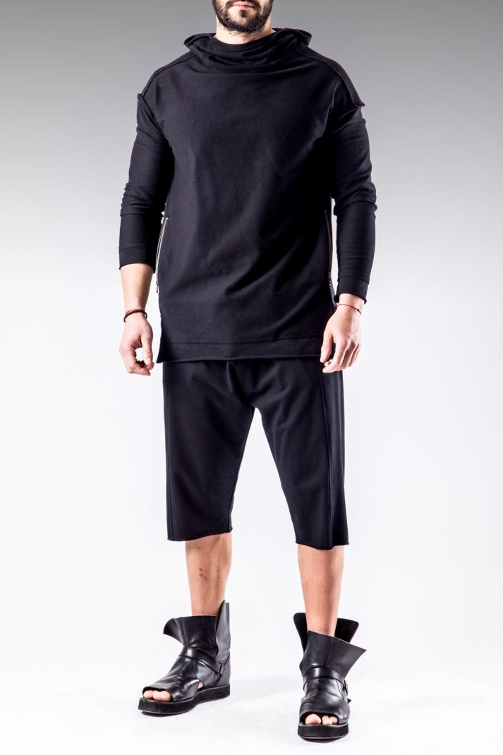 ROND SHORTS | Limited Edition black jogging pants