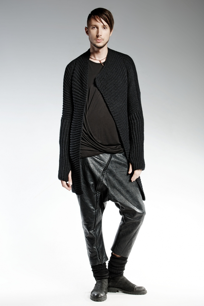 VALERIUS | limited edition man's eco leather pants